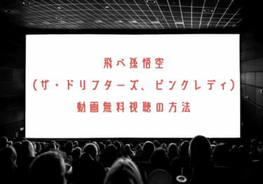 飛べ!孫悟空の動画を無料で見れる動画配信まとめ!